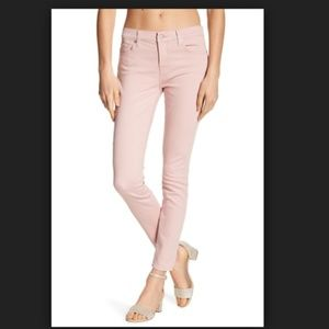 7 for all mankind pink gwenevere skinny jeans mom